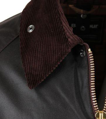 Barbour Beaufort Wax Jacket Brown