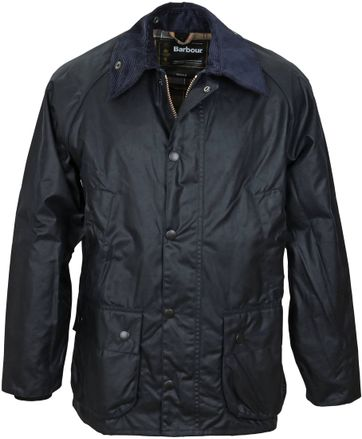 Barbour Bedale Wax Coat Dark Blue