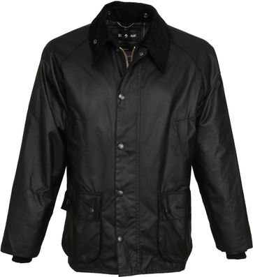 Barbour Bedale Wax Jacket Black