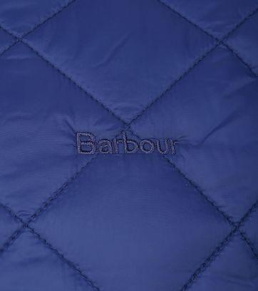 Barbour Belk Quilt Jack Blauw