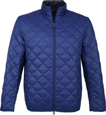 Barbour Belk Quilt Jack Blue