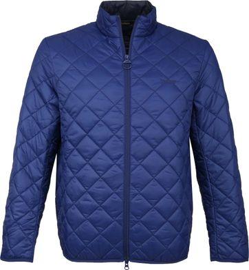 Barbour Belk Quilt Jacke Blau