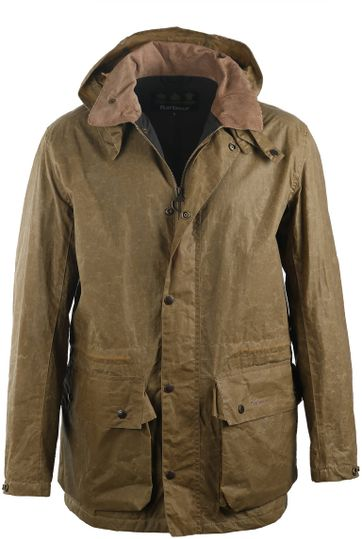 Barbour Binaccle Jacket Brown