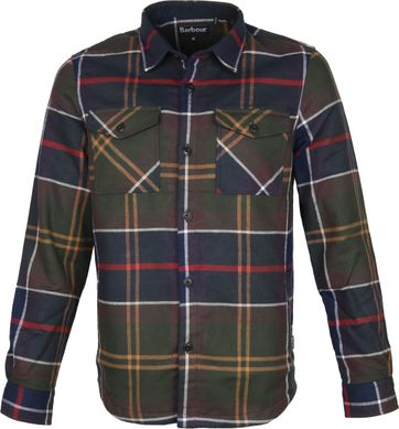 Barbour Cannich Overshirt Karo