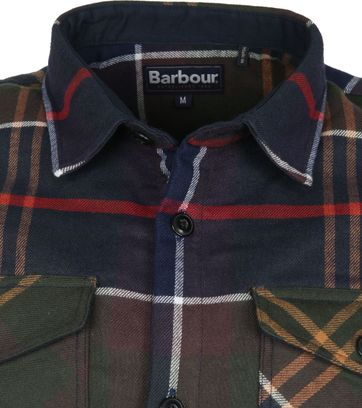 Barbour Cannich Overshirt Karo