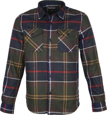 Barbour Cannich Overshirt Ruit