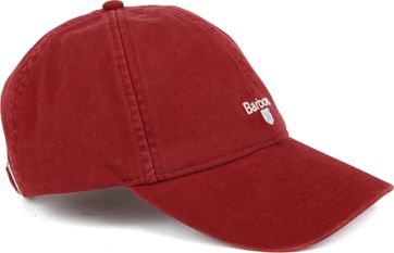Barbour Cap Red