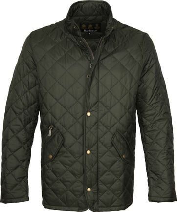 Barbour Chelsea Jack Army Quilted