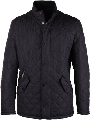 Barbour Chelsea Sport Steppjacke Navy