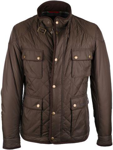 Barbour Chukka Quilt Olive Jacket