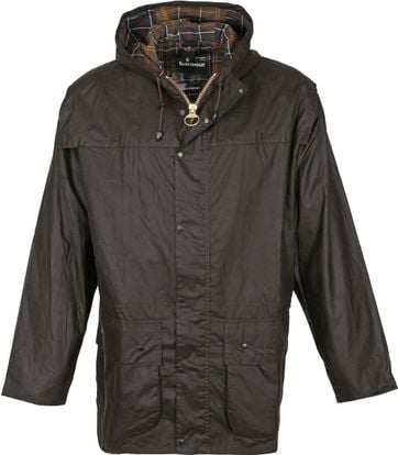 Barbour Classic Durham Wachsjacke Olive