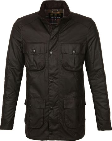 Barbour Corbridge Wachsjacke Olive