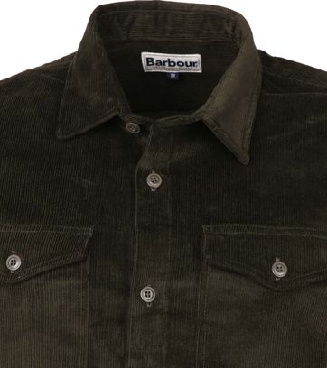 Barbour Corduroy Overshirt Olive