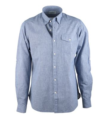 Barbour Drift Hemd Blauw Ruit
