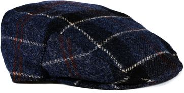 Barbour Flat Cap Pane Navy