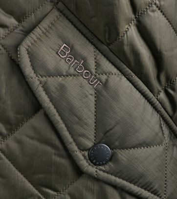 Barbour Flyweight Chelsea Quilted Steppjacke Olivgrün