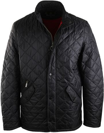 Barbour steppjacke rot