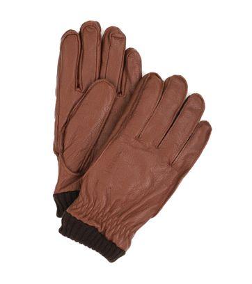 Barbour Gloves Camel