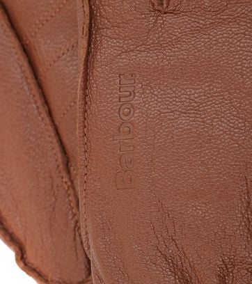 Barbour Gloves Camel