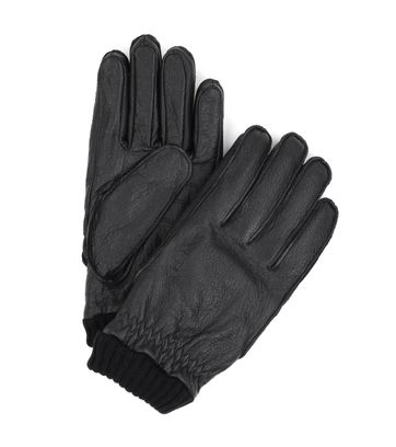 Barbour Handschuhe Schwarz