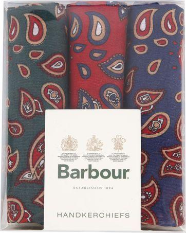 Barbour Hankie Taschentücher Paisley