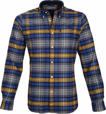 Barbour Hemd Endsleigh Highland Blau