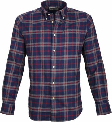 Barbour Hemd Stapleton Seth Navy