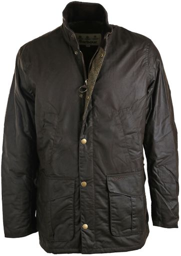 Barbour Hereford Wachsjacke Grün