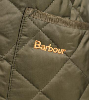 Detail Barbour Heritage Liddesdale Groen