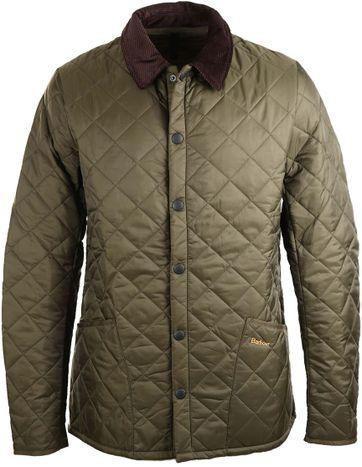 Barbour Heritage Liddesdale Jacket Green