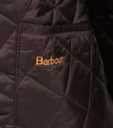 Barbour Heritage Steppjacke Braun