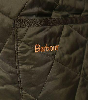 Barbour Heritage Steppjacke Grün