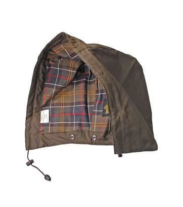 Barbour Hood Beaufort Olive