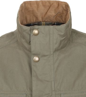 Barbour Jacke Sanderling Grun