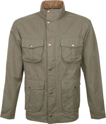 Barbour Jacket Sanderling Green