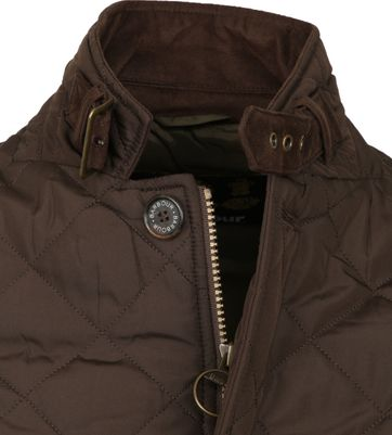 Barbour Jas Quilted Lutz Bruin