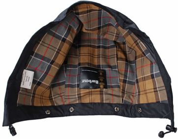Barbour Kapuze Bedale Navy