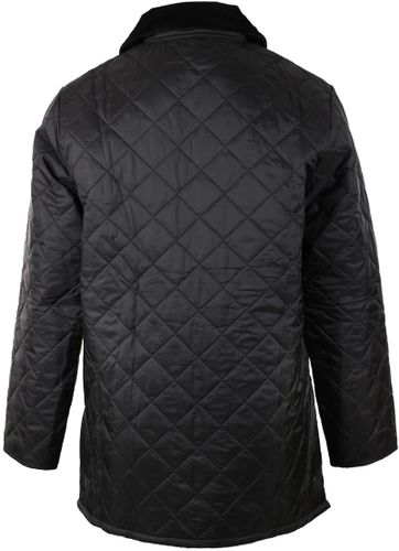 Barbour Liddesdale Quilt Black