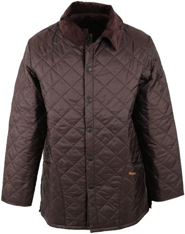 Barbour Liddesdale Quilt Brown
