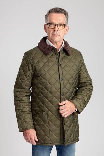 Barbour Liddesdale Quilt Green