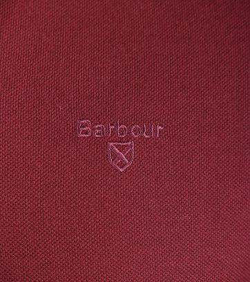 Detail Barbour Longsleeve Polo Bordeaux
