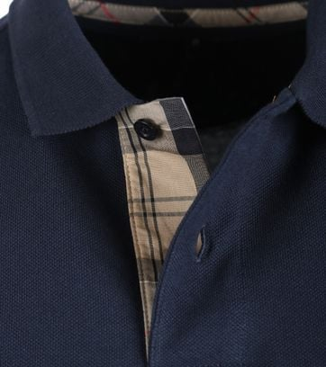 Detail Barbour Longsleeve Polo Navy