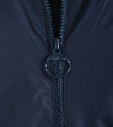 Detail Barbour Lundy Zomerjas Donkerblauw