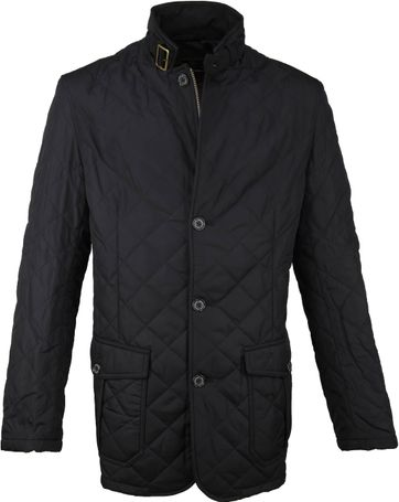 Barbour Lutz Quilt Jacket Schwarz