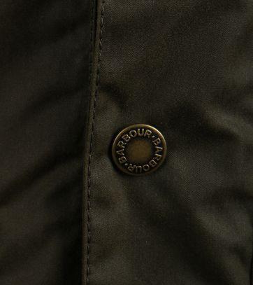 Detail Barbour Orkney Waxjas