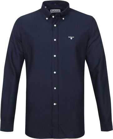 Barbour Oxford Hemd Donkerblauw