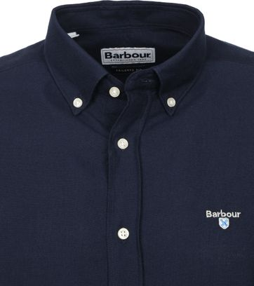 Barbour Oxford Overhemd Donkerblauw