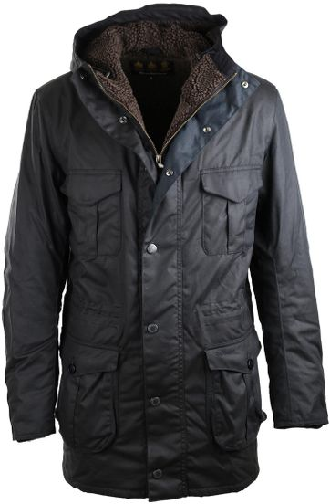 Barbour Parka Wax Oakum