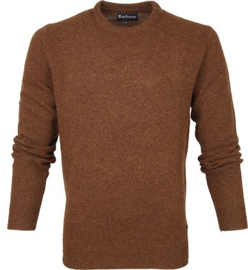 Barbour Patch Pullover Bronze Braun