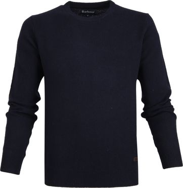 Barbour Patch Pullover Navy
